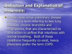definition and explanation of diagnosis