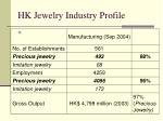hk jewelry industry profile