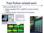 past python related work