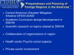 preparedness and planning of foreign regions in the americas18