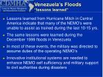 venezuela s floods lessons learned