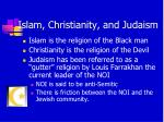 islam christianity and judaism