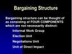 bargaining structure2
