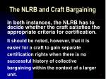 the nlrb and craft bargaining24
