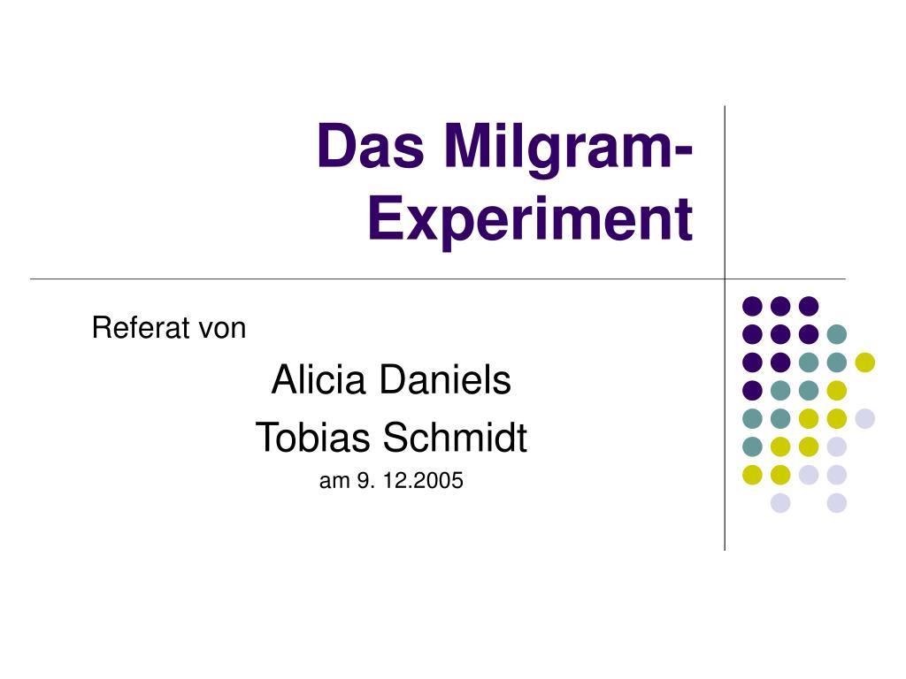 das milgram experiment l.