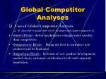 global competitor analyses15