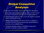 global competitor analyses17