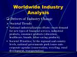 worldwide industry analysis10