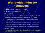 worldwide industry analysis11