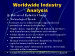 worldwide industry analysis12