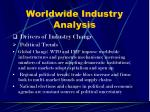 worldwide industry analysis8