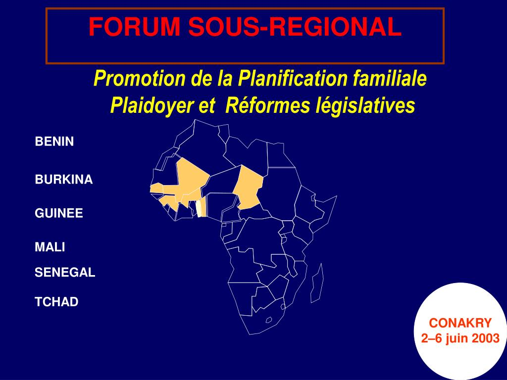 promotion de la planification familiale plaidoyer et r formes l gislatives l.