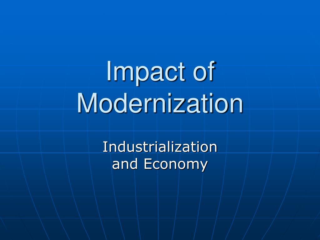 impact of modernization l.