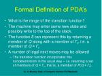 formal definition of pda s28