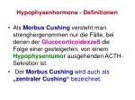 hypophysenhormone definitionen