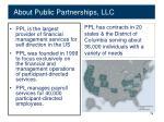 about public partnerships llc