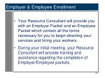 employer employee enrollment