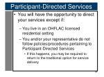 participant directed services2