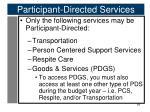 participant directed services3