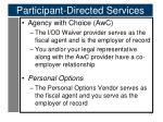 participant directed services5