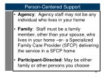person centered support1