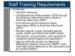 staff training requirements4