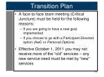 transition plan4