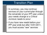 transition plan5