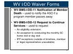 wv i dd waiver forms5