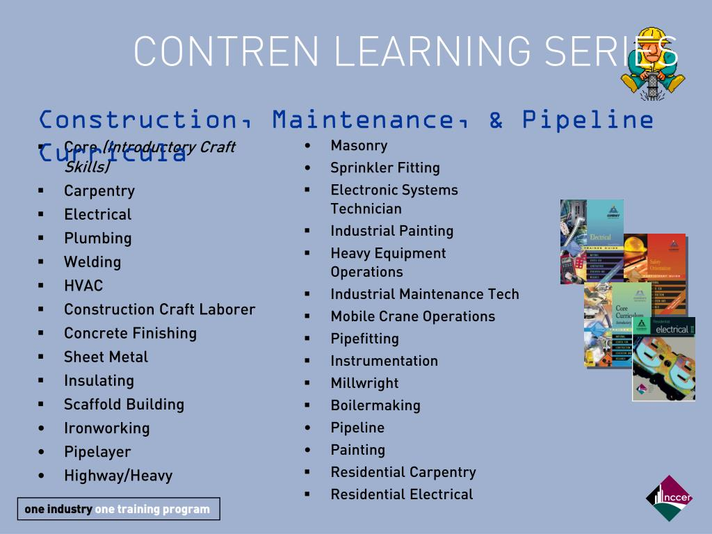 CONTREN LEARNING SERIES