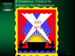 e commerce catalyst for enterprise data management