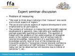 expert seminar discussion14