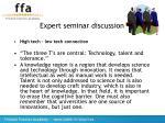 expert seminar discussion17