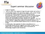 expert seminar discussion18