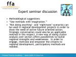 expert seminar discussion19
