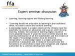 expert seminar discussion20