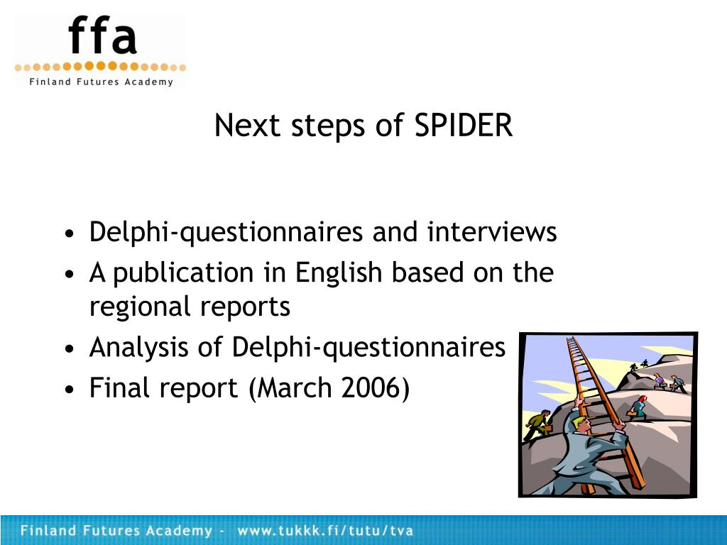 Next steps of SPIDER