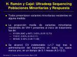 h ram n y cajal ultradeep sequencing poblaciones minoritarias y respuesta44