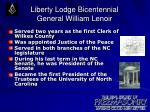 liberty lodge bicentennial general william lenoir5