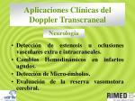 aplicaciones cl nicas del doppler transcraneal