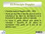 el principio doppler