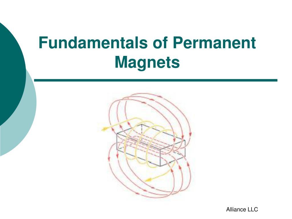fundamentals of permanent magnets l.