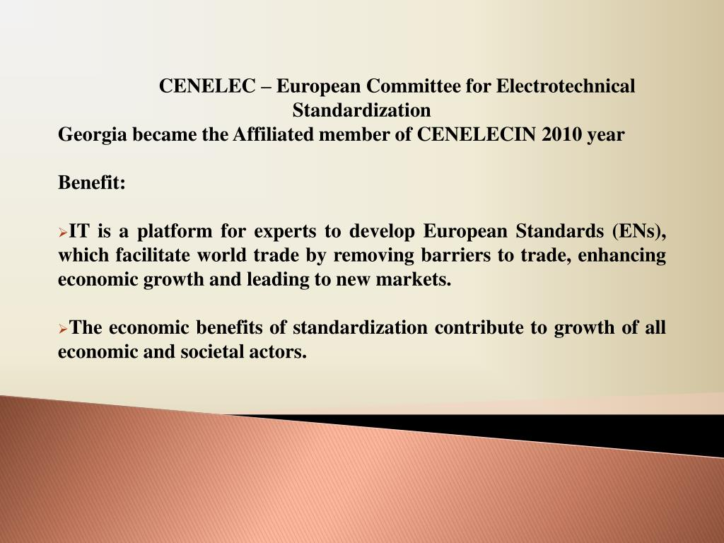 CENELEC – European Committee for