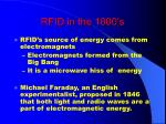 rfid in the 1800 s