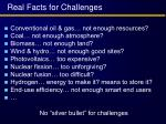 real facts for challenges