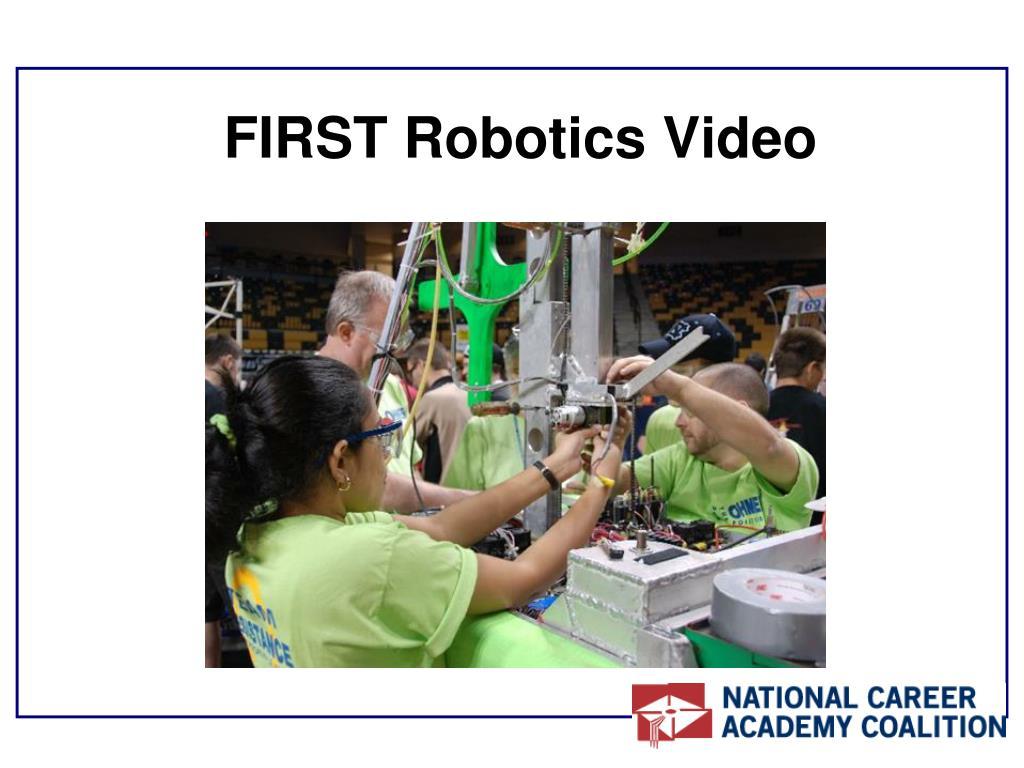 FIRST Robotics Video