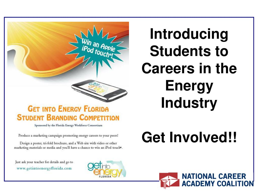 Introducing Students to Careers in the Energy Industry