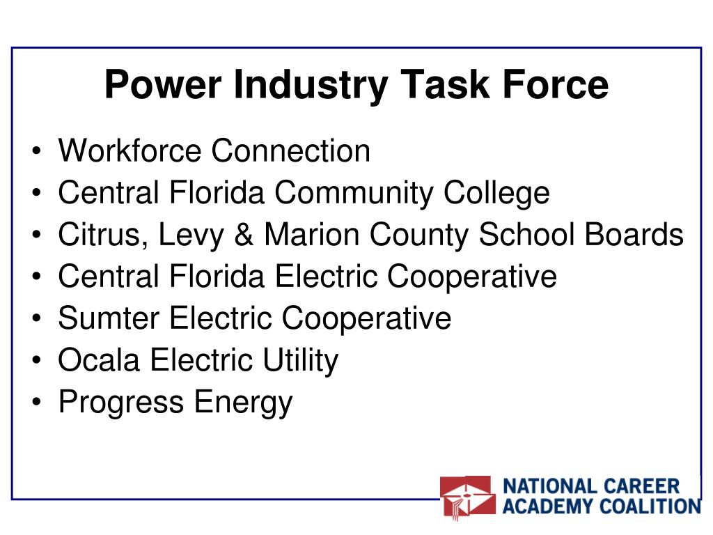 Power Industry Task Force