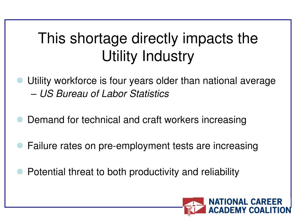 This shortage directly impacts the