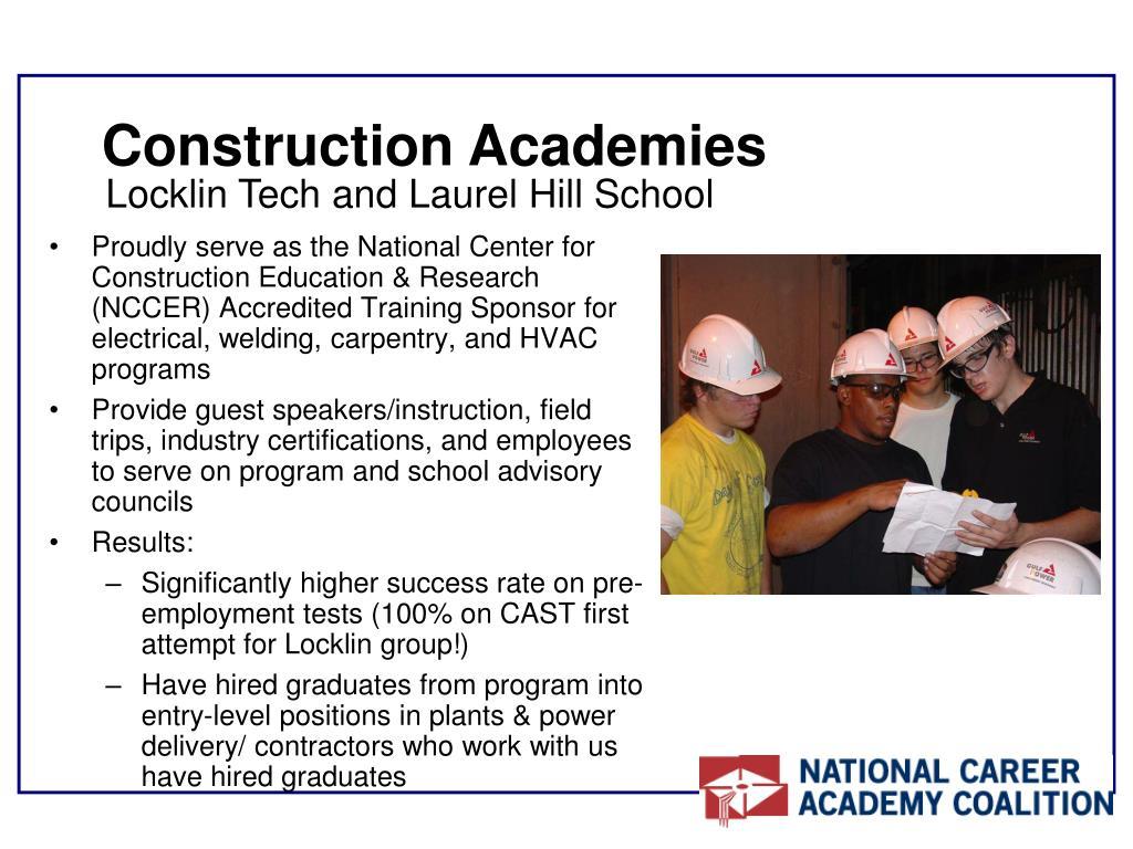 Construction Academies